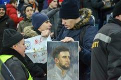哈尔科夫,乌克兰- 2017年12月06日:基尔・获加画象  图库摄影