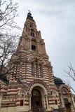 哈尔科夫12月2017年,乌克兰:通告大教堂是哈尔科夫最重要的东正教  库存图片