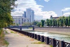 哈尔科夫 都市风景 免版税库存照片