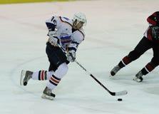 哈尔科夫Donbass冰球符合 免版税库存照片
