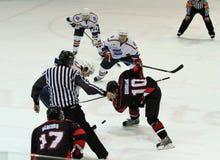 哈尔科夫Donbass冰球符合 库存照片