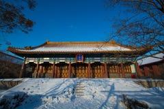 哈尔滨儒家寺庙 库存照片