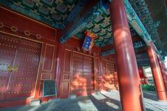 哈尔滨儒家寺庙 免版税图库摄影