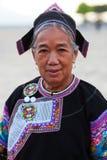 哈尼族,中国 免版税库存照片