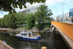 哈弗尔河-柏林-德国 库存图片