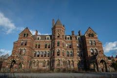 哈得逊河精神病学的大厦 免版税库存照片