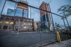 哈德森围场建筑 库存图片
