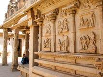哈扎拉Rama寺庙在亨比 免版税库存照片