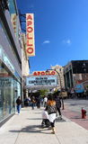 哈林阿波罗剧院 库存照片