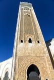 哈桑二世清真寺在卡萨布兰卡 库存图片
