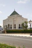 哈桑二世清真寺在拉巴特 免版税库存图片