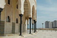 哈桑二世清真寺,卡萨布兰卡,摩洛哥 库存照片