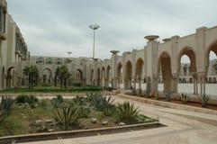 哈桑二世清真寺,卡萨布兰卡,摩洛哥 库存图片