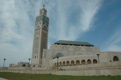 哈桑二世清真寺,卡萨布兰卡,摩洛哥 图库摄影