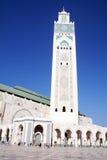 哈桑二世清真寺-卡萨布兰卡-摩洛哥 免版税库存图片