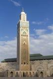 哈桑二世清真寺 免版税库存照片