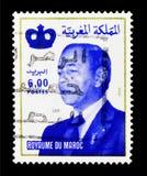 哈桑二世, serie国王,大约1998年 免版税图库摄影