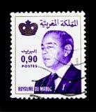 哈桑二世, serie国王,大约1998年 库存照片