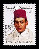 哈桑二世(1929-1999), serie国王,大约1968年 库存图片