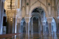哈桑ii国王清真寺 免版税库存图片