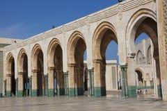 哈桑II清真寺,卡萨布兰卡 库存图片