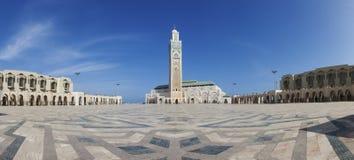 哈桑II清真寺,卡萨布兰卡 免版税库存照片