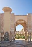 哈桑II清真寺,卡萨布兰卡 免版税图库摄影