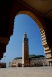 哈桑ii清真寺 免版税库存照片