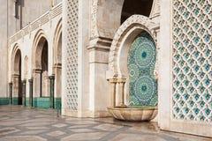 哈桑ii清真寺 库存照片