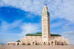 哈桑ii清真寺 库存图片