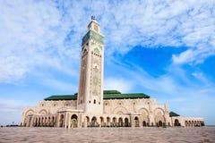 哈桑ii清真寺 免版税库存图片