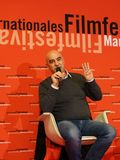 哈比卜Internationales的Filmfestival曼海姆海得尔堡汉纳Shehadeh 2017年 库存照片