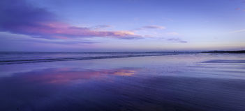 哈特尔浦海边英国 免版税图库摄影