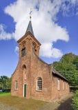 哈瑟尔特教堂,提耳堡大学,荷兰的最旧的宗教纪念碑 库存图片