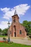 哈瑟尔特教堂,最旧的宗教纪念碑在提耳堡大学,荷兰 图库摄影