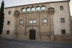 哈瓦尔金托宫殿 免版税图库摄影