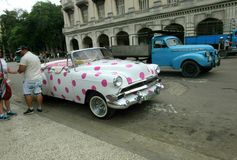 哈瓦那城市生活 库存图片