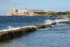 哈瓦那堡垒 库存照片