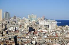 哈瓦那安置老住宅 库存照片