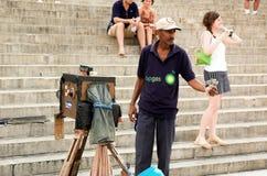 哈瓦那摄影师 库存照片