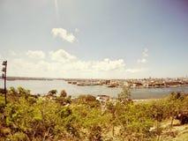 哈瓦那旧城古巴,城市scape 免版税库存照片