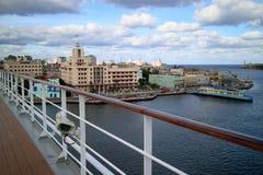 哈瓦那旧城视图 免版税库存图片