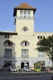 哈瓦那旧城建筑学在古巴 免版税库存图片