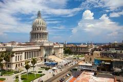 哈瓦那旧城 免版税库存图片