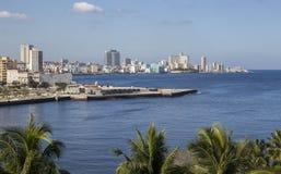 哈瓦那海湾 免版税库存图片