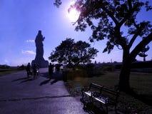 哈瓦那的基督 图库摄影