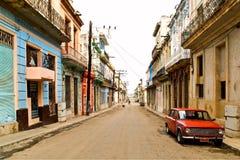 哈瓦那街道 免版税图库摄影
