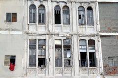 哈瓦那被打碎的窗口 图库摄影