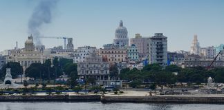 哈瓦那视图 图库摄影