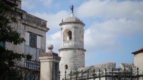 哈瓦那都市风景视图-大厦和塔 股票视频